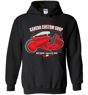 Kaneda Custom Shop-Anime Hoodies-Darkchoocoolat|Threadiverse