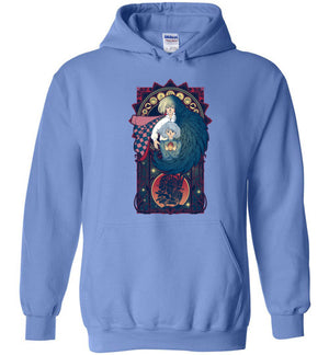 Art of a Moving Castle-Anime Hoodies-Chocolate Raisins Art|Threadiverse