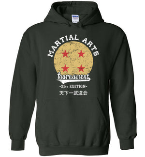 Martial Arts Tournament-Anime Hoodies-Ddjvigo|Threadiverse