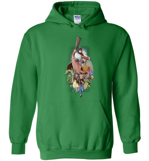 Childhood Heroes-Animation Hoodies-Skullpy|Threadiverse