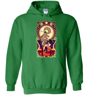 Art Of Heaven-Animation Hoodies-Chocolate Raisins Art|Threadiverse
