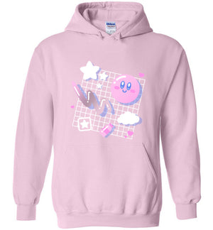 Kirby Aesthetic-Gaming Hoodies-Minilla|Threadiverse