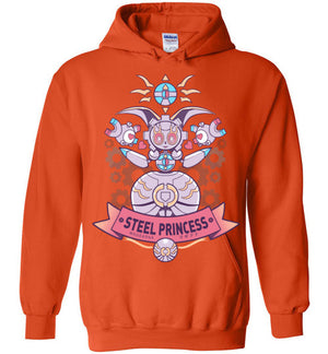Steel Princess-Gaming Hoodies-Art Of Sarah Richford|Threadiverse