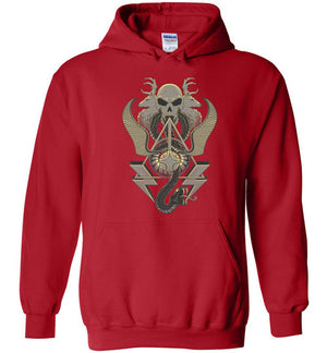 Art Of Wizardry-Pop Culture Hoodies-Chocolate Raisins Art|Threadiverse