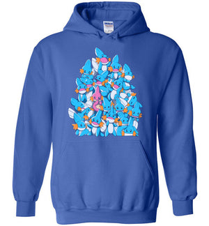 A Pile of Water Starters-gaming Hoodies-Art Of Sarah Richford|Threadiverse