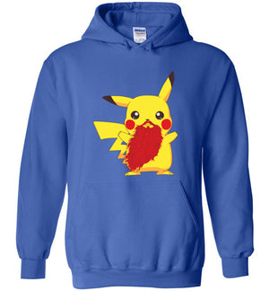 Beardemon Pikachu-Pop Culture Hoodies-Darkchoocoolat|Threadiverse