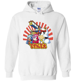 Samurai Pizza Cats-Animation Hoodies-Skullpy|Threadiverse