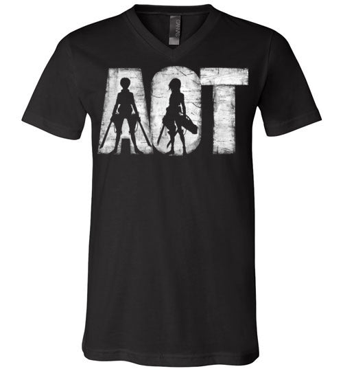 AOT-Anime V-Necks-Ddjvigo|Threadiverse
