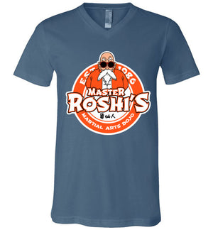 Master Roshi Dojo-Anime V-Necks-Carlo1956|Threadiverse