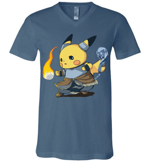 Korramon-Anime V-Necks-Angzdu|Threadiverse