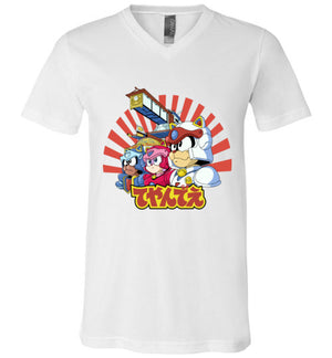 Samurai Pizza Cats-Animation Women's V-Necks-Skullpy|Threadiverse