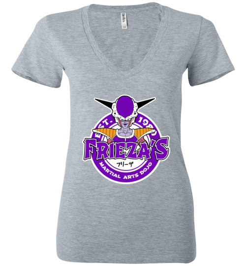 Frieza's Dojo-Anime Women's V-Necks-Carlo1956|Threadiverse