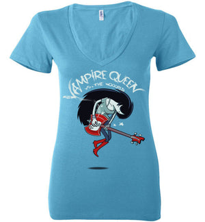 vs the Wooorld-Animation Women's V-Necks-Kgullholmen|Threadiverse