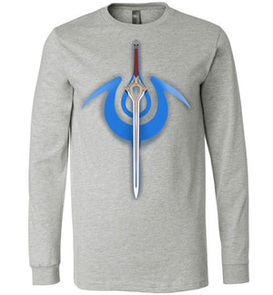 Chroms Falchion-gaming Long Sleeves-Art Of Sarah Richford|Threadiverse
