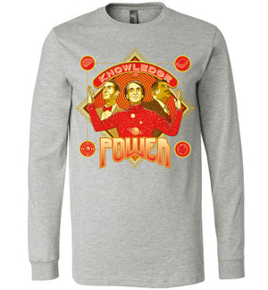 Knowledge Is Power-Pop Culture Long Sleeves-Kgullholmen|Threadiverse