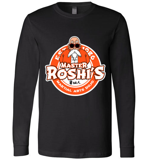 Master Roshi Dojo-Anime Long Sleeves-Carlo1956|Threadiverse