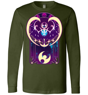Art of the Moon-Gaming Long Sleeves-Chocolate Raisins Art|Threadiverse