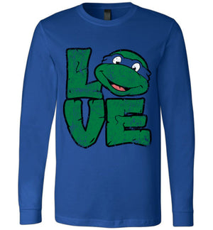 I <3 Turtles-Animation Long Sleeves-Skullpy|Threadiverse