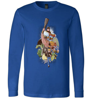 Childhood Heroes-Animation Long Sleeves-Skullpy|Threadiverse