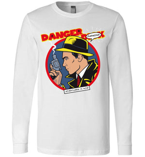 Danger D_ck-Animation Long Sleeves-Kgullholmen|Threadiverse