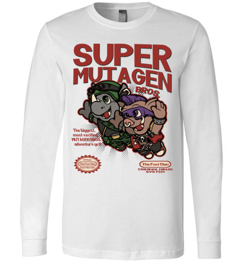 Super Mutagen Bros-Pop Culture Long Sleeves-Angzdu|Threadiverse