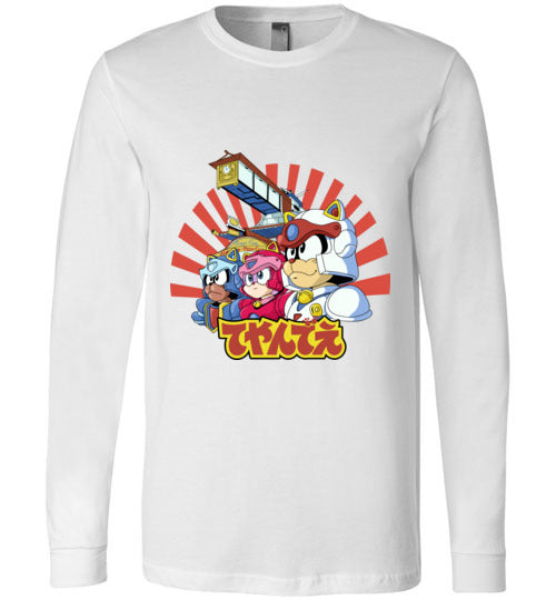 Samurai Pizza Cats-Animation Long Sleeves-Skullpy|Threadiverse