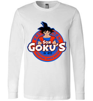 Kakarotto'd Dojo-Anime Long Sleeves-Carlo1956|Threadiverse