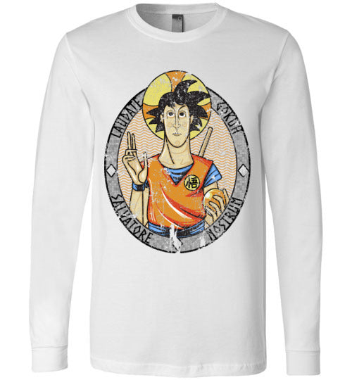 Laudate Gokuh-Anime Long Sleeves-Skullpy|Threadiverse