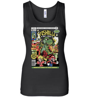 Yoshilla-Gaming Women's Tank Tops-Fernando Solar Tees|Threadiverse