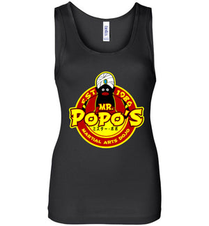 Popo's Dojo-Anime Women's Tank Tops-Carlo1956|Threadiverse
