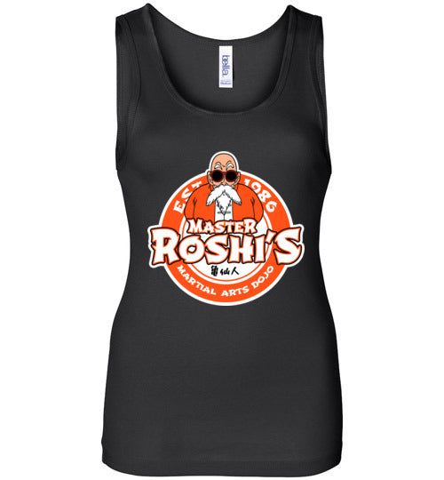 Master Roshi Dojo-Anime Women's Tank Tops-Carlo1956|Threadiverse