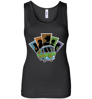 Mystery Pals-Animation Women's Tank Tops-Skullpy|Threadiverse