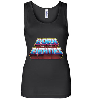 Born In The 80s-Pop Culture Women's Tank Tops-Skullpy|Threadiverse