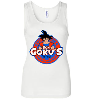 Kakarotto'd Dojo-Anime Women's Tank Tops-Carlo1956|Threadiverse