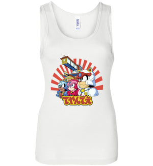 Samurai Pizza Cats-Animation Women's Tank Tops-Skullpy|Threadiverse