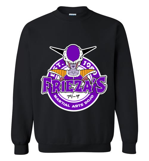 Frieza's Dojo-Anime Sweatshirts-Carlo1956|Threadiverse