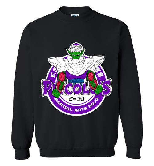 Super Namekian's Dojo-Anime Sweatshirts-Carlo1956|Threadiverse