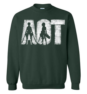AOT-Anime Sweatshirts-Ddjvigo|Threadiverse