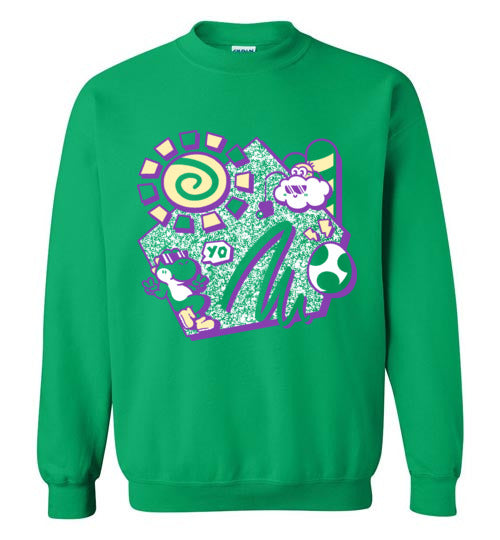 Summer Yo-Gaming Sweatshirts-Minilla|Threadiverse