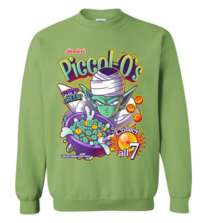 Piccol-O's-Anime Sweatshirts-Kinda Creative|Threadiverse