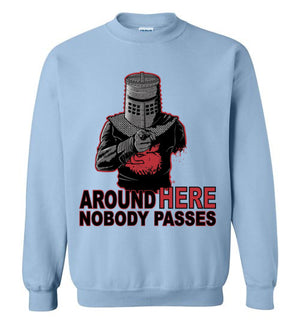 Uncle Black Knight-Gaming Sweatshirts-Fernando Solar Tees|Threadiverse