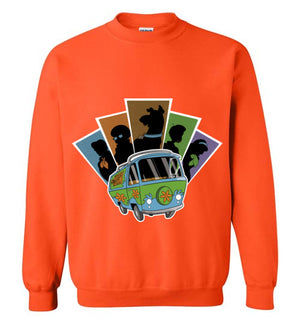 Mystery Pals-Animation Sweatshirts-Skullpy|Threadiverse