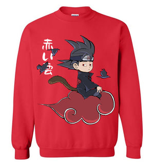 Red Cloud-Anime Sweatshirts-Angzdu|Threadiverse