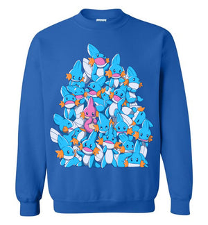 A Pile of Water Starters-Gaming Sweatshirts-Art Of Sarah Richford|Threadiverse