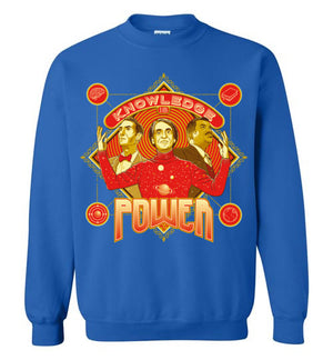 Knowledge Is Power-Pop Culture Sweatshirts-Kgullholmen|Threadiverse