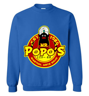 Popo's Dojo-Anime Sweatshirts-Carlo1956|Threadiverse