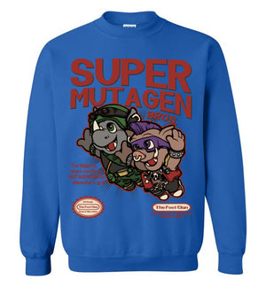Super Mutagen Bros-Pop Culture Sweatshirts-Angzdu|Threadiverse