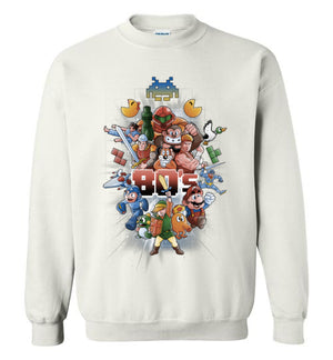 80s Games-Gaming Sweatshirts-Skullpy|Threadiverse