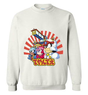 Samurai Pizza Cats-Animation Sweatshirts-Skullpy|Threadiverse