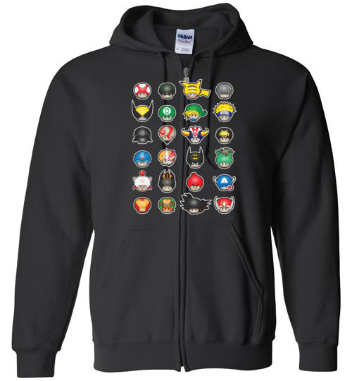 Know Your Mushrooms-Pop Culture Hoodies-Darkchoocoolat|Threadiverse